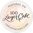about About 100 Layer Cake Badge