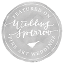 about About wedding sparrow badge