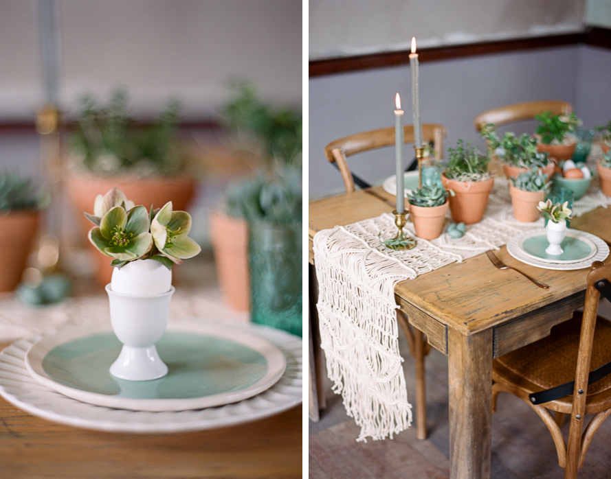 Spring Garden Easter Table | Featured on Magnolia Rouge Spring Garden Easter Table   013
