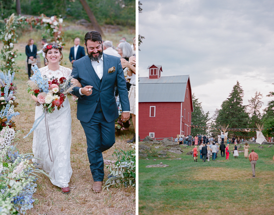 Emily + Patton | Featured in Martha Stewart Weddings Magazine PenhallegonWedding ShannonVonEschen 37