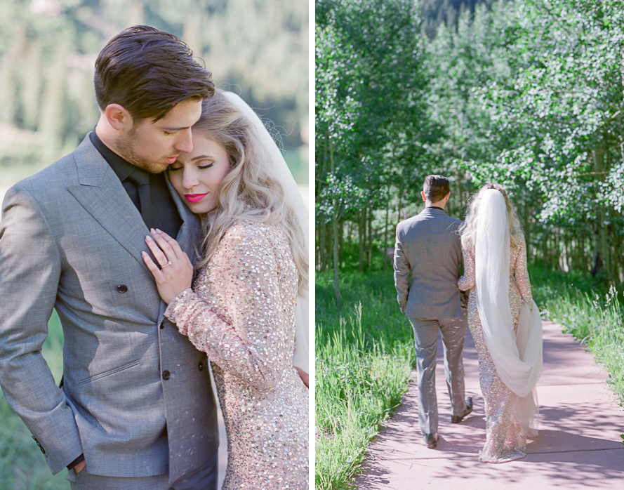 intimate destination wedding sunrise wedding ceremony ideas aspen colorado wedding photographers colorado mountain wedding venues small wedding ceremony venues film wedding photographers Brytny + Kiley | Featured on BRIDES GrantWed Blog017