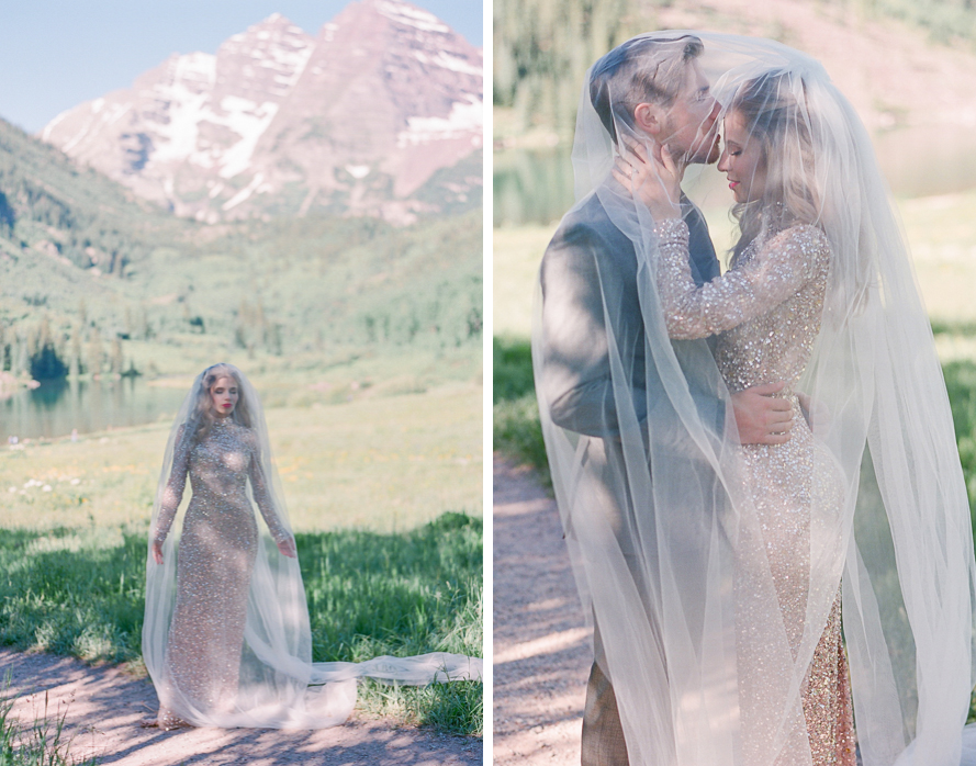 intimate destination wedding sunrise wedding ceremony ideas aspen colorado wedding photographers colorado mountain wedding venues small wedding ceremony venues film wedding photographers Brytny + Kiley | Featured on BRIDES GrantWed Blog027