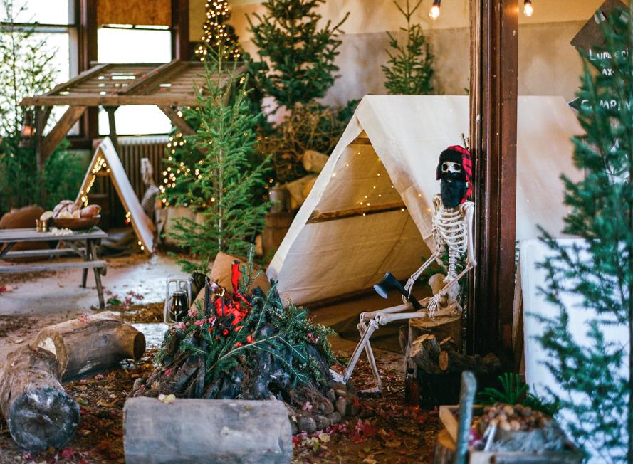 The Lost Lumberjack – Eli's 5th Birthday Bash on Martha Stewart Elis Lost Lumberjack Party 017