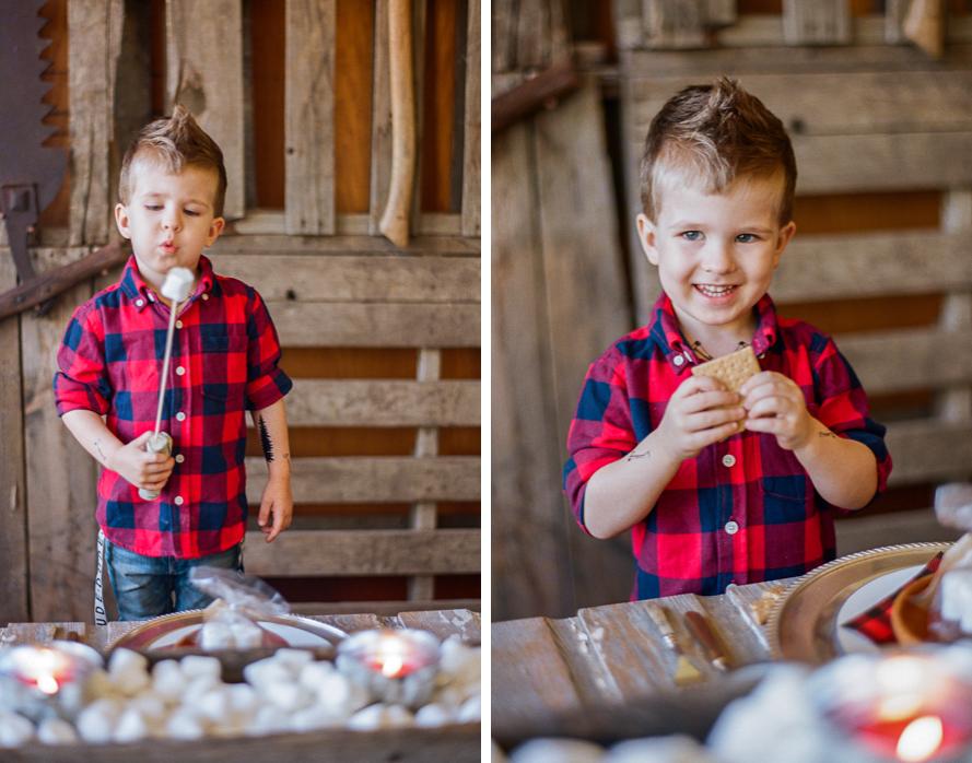 The Lost Lumberjack – Eli's 5th Birthday Bash on Martha Stewart Elis Lost Lumberjack Party 054